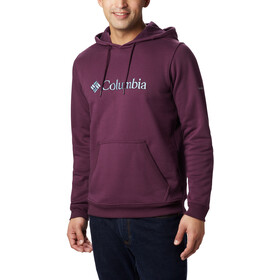 Columbia CSC Basic Logo II Capuchon Jas Heren, black cherry